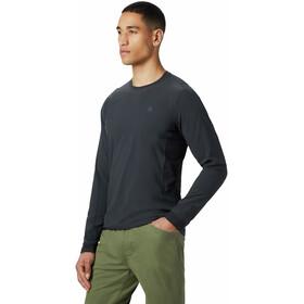 Mountain Hardwear Chockstone Camiseta Híbrida Hombre, dark storm